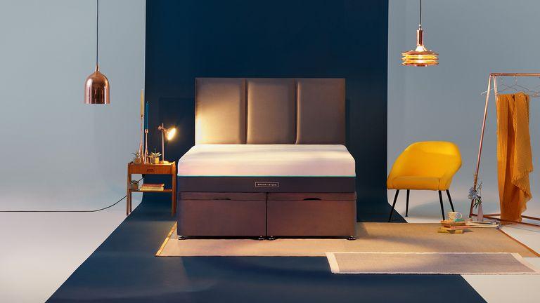 Brook & Wilde Elite Mattress review: mattress in bedroom