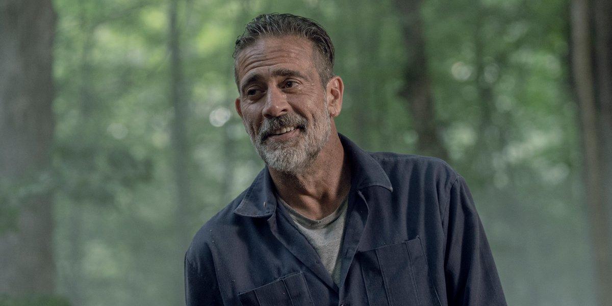 Negan on The Walking Dead.