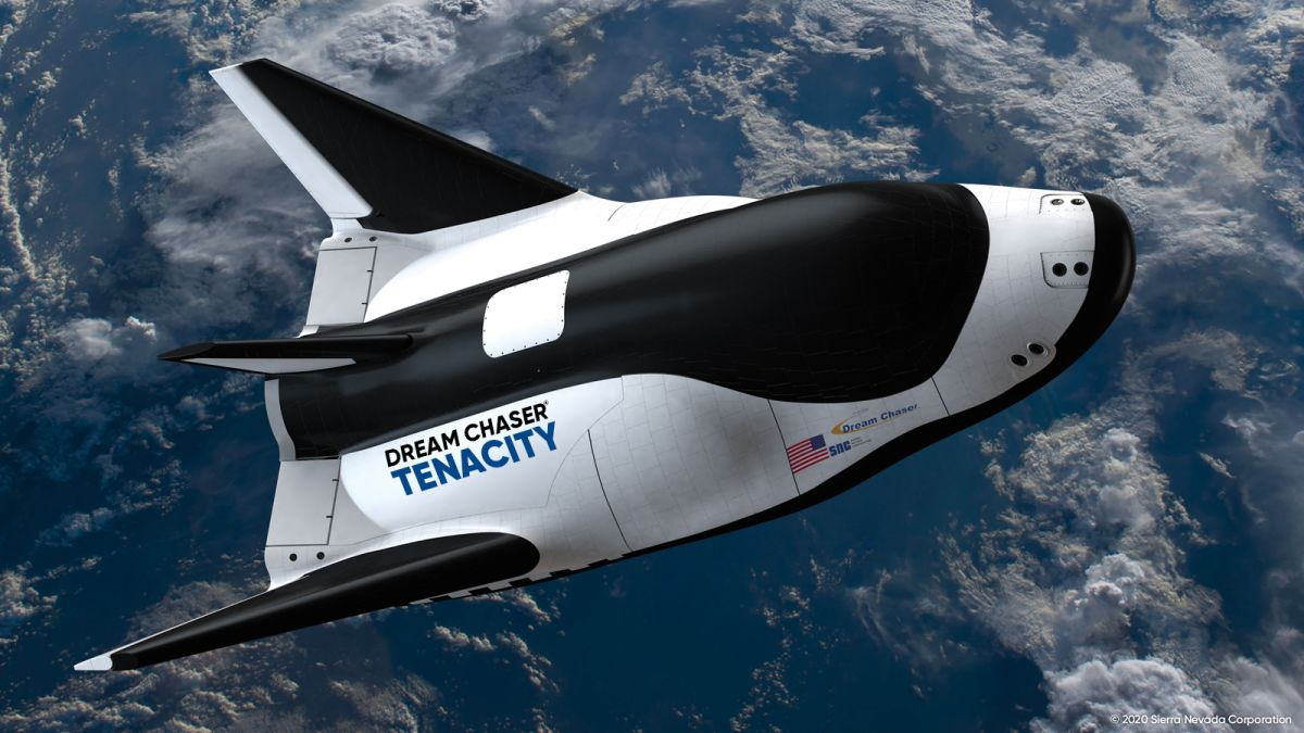 Meet 'Tenacity': 1st Dream Chaser space plane gets a name
