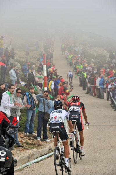 Bola del Mundo, Vuelta a Espana 2010, stage 20