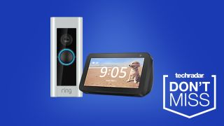 Ring Pro deal and free Echo Show 5 at Amazon