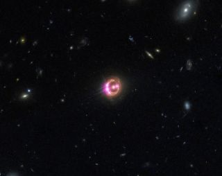 Quasar Powered by Supermassive Black Hole