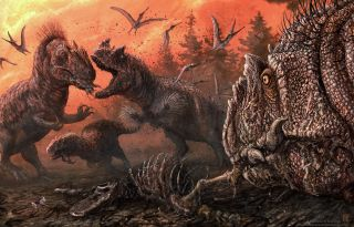 Theropod cannibals in a stressed Late Jurassic ecosystem