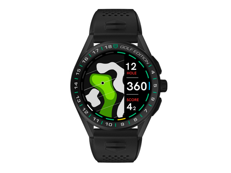tag heuer connected golf edition watch, Best Golf GPS, premium golf watch, Tag heuer