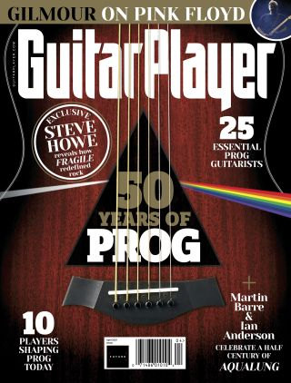 Guitar Player's April 2021 issue cover