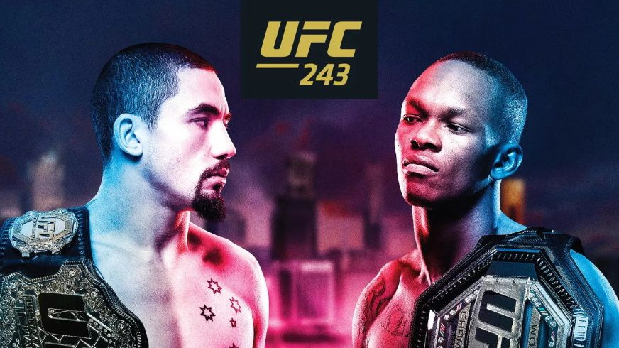 How to watch UFC 243: live stream Whittaker vs Adesanya and more from anywhere