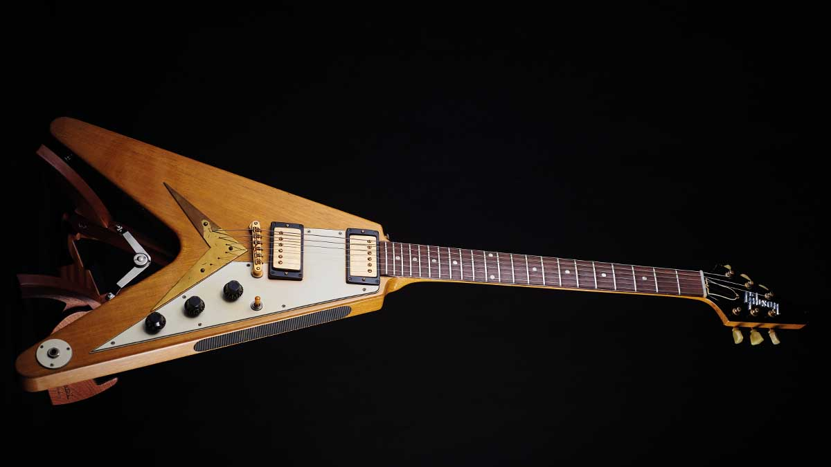 Classic gear: Gibson Flying V