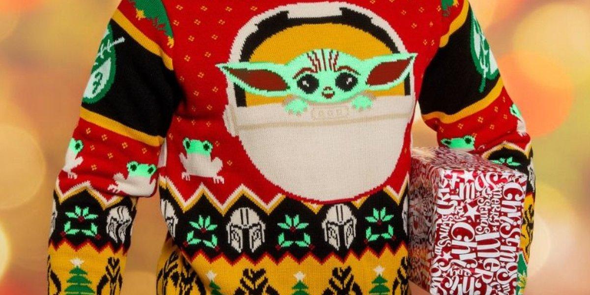 Mandalorian Ugly Christmas Sweater