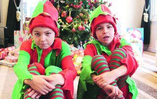 Gypsy Kids at Christmas Thursday 14th December