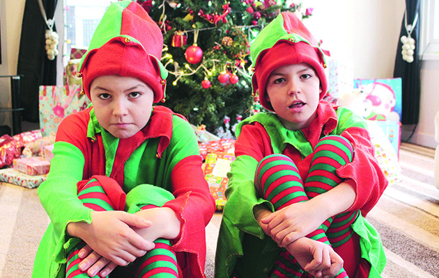 Gypsy Kids at Christmas Thursday 14th December
