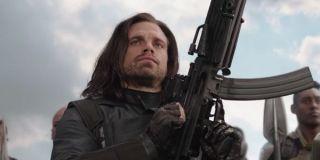 Sebastian Stan is Bucky