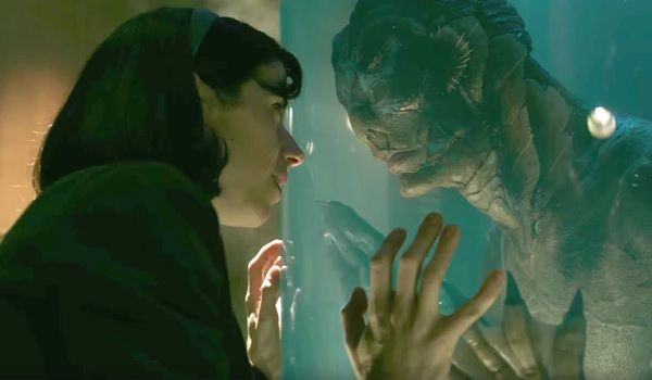 The Shape of Water Sally Hawkins stares lovingly at her mer-man