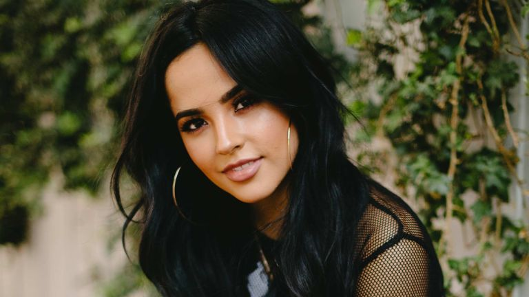 Becky G attends the MEGA 96.3FM Pool Party with Becky G at SkyBar at the Mondrian Los Angeles