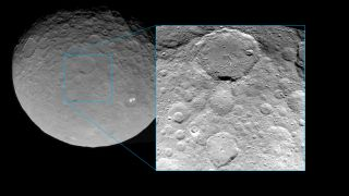 New Dawn View of Ceres Shows Copious Craters