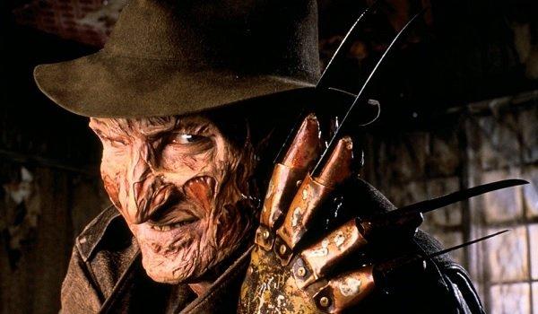 A Nightmare on Elm Street Freddy flashing the glove