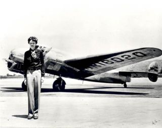 Amelia Earhart's Scarf Flying to Space