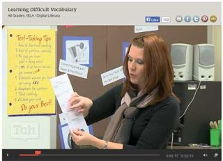 From the Classroom: Best Tech Practice Video of the Week - Learning Difficult Vocabulary