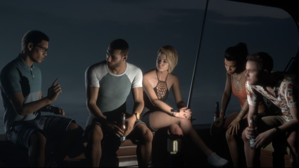 Man of Medan players can invite a friend to join them for free