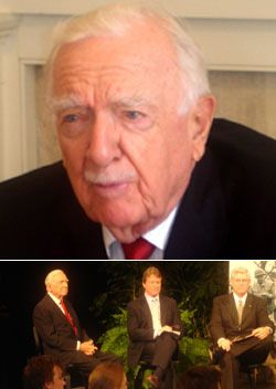 Legendary TV Anchorman Walter Cronkite Dies at 92