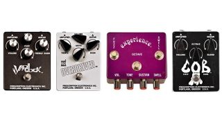 Four Prescription Electronics pedals
