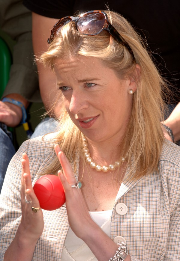 The controversial Katie Hopkins