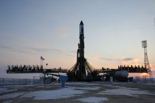 LV Soyuz Rollout, January 24, 2012