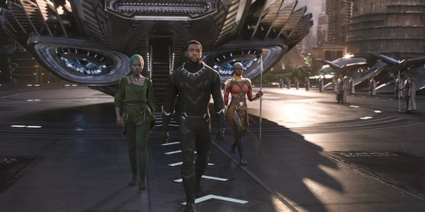 Black Panther full cast photo