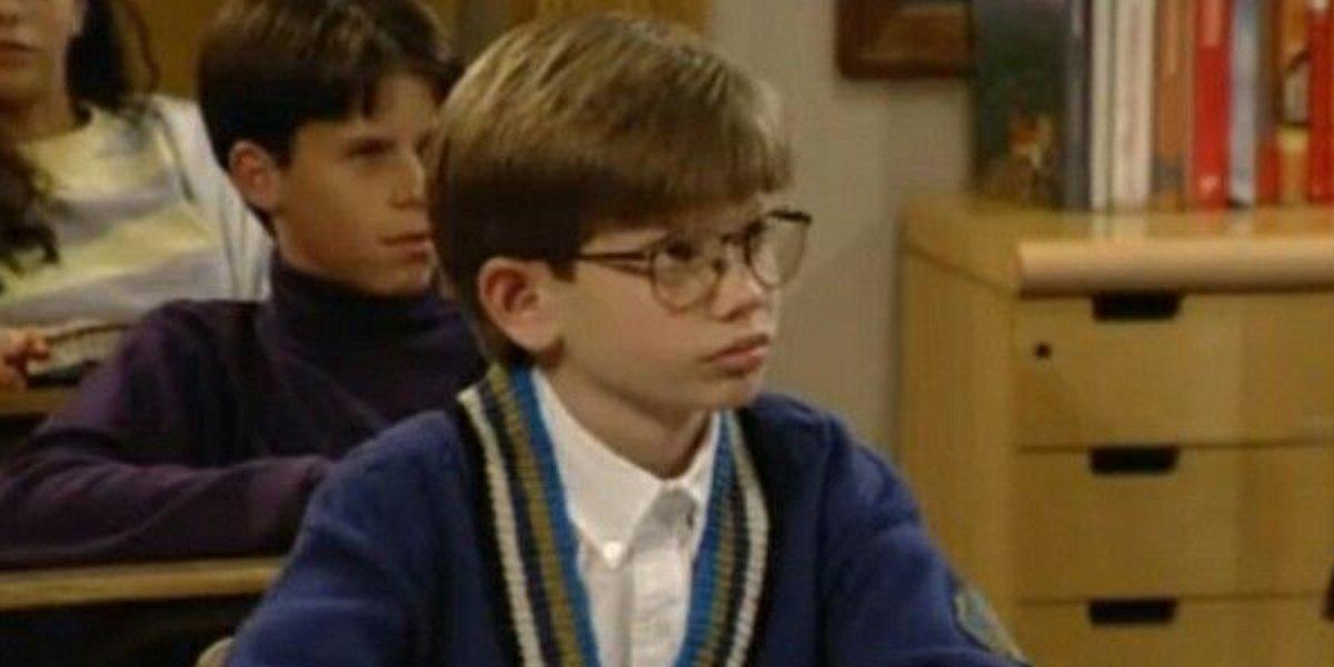 Lee Norris as Stuart Minkus on Boy Meets World