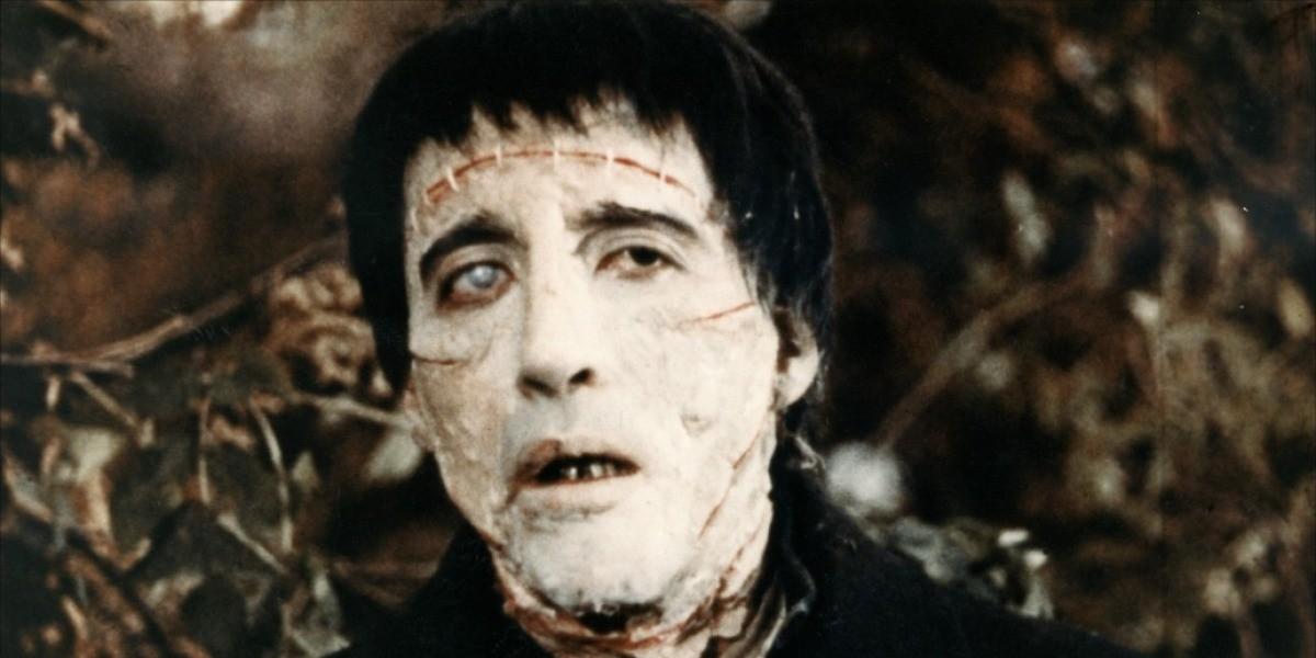 Christopher Lee as Frankenstein
