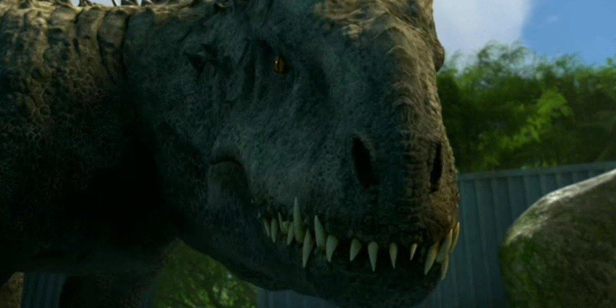 A dinosaur Jurassic World: Camp Cretaceous netflix