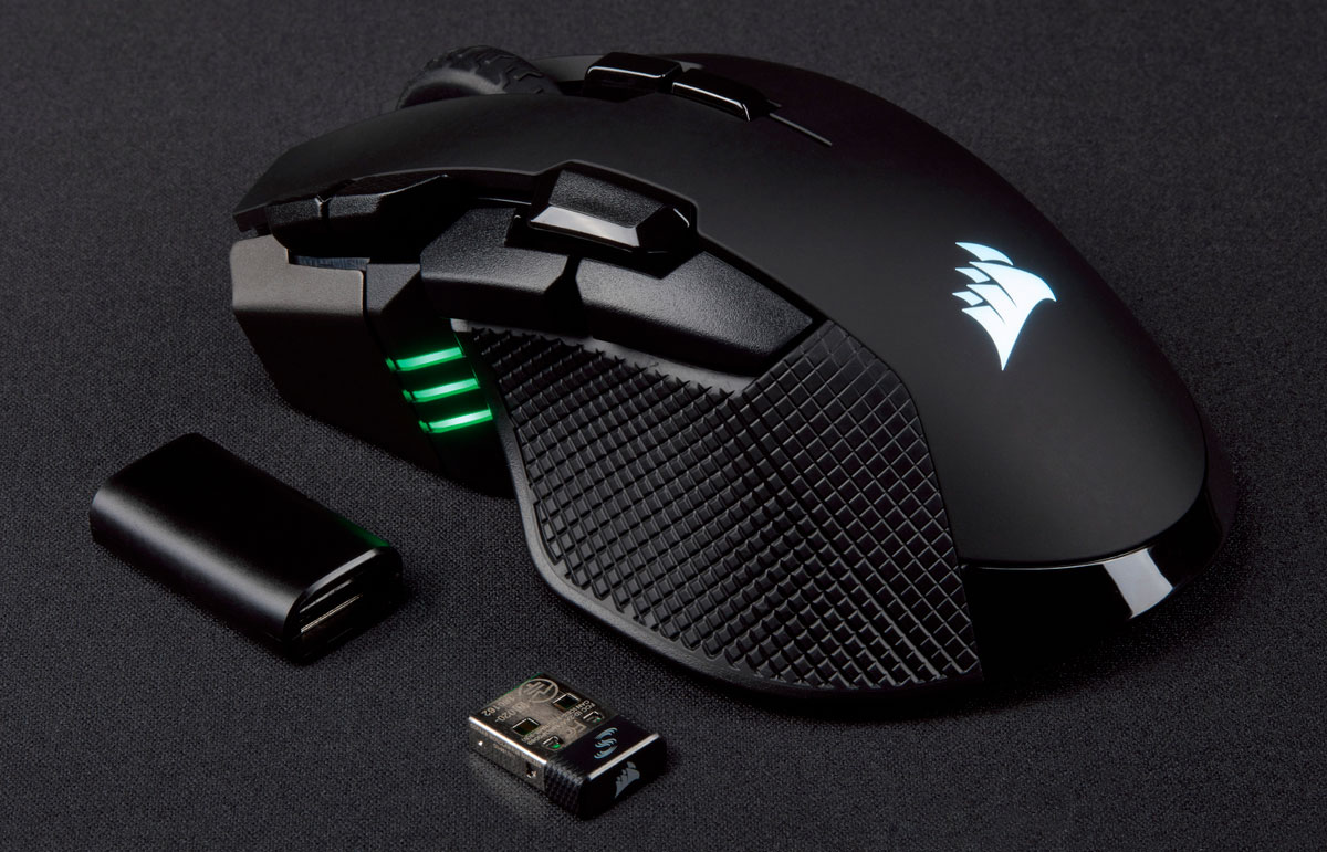 This ultra-high sensitivity mouse from Corsair is now available in wireless form