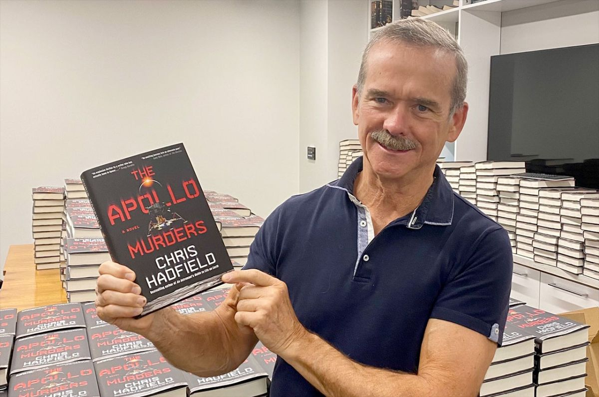 Astronaut Chris Hadfield found space for 'The Apollo Murders' in real history