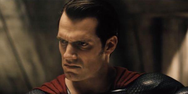 Henry Cavill as Superman in Batman v Superman: Dawn of Justice