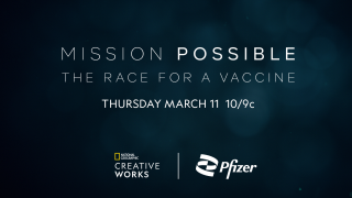 Pfizer COVID Disney Ad Sales National Geographic CreativeWorks