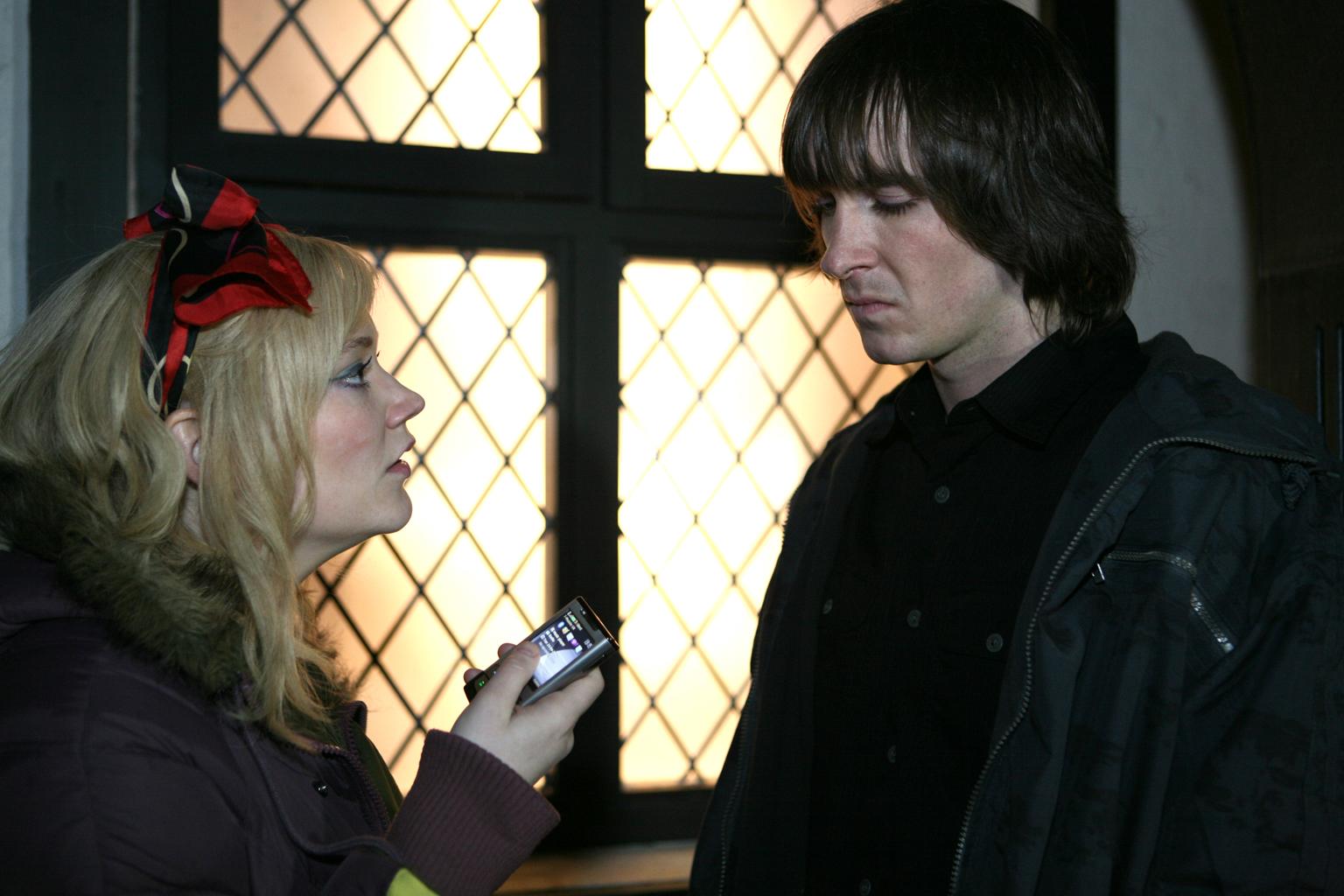 Michaela exposes Rhys