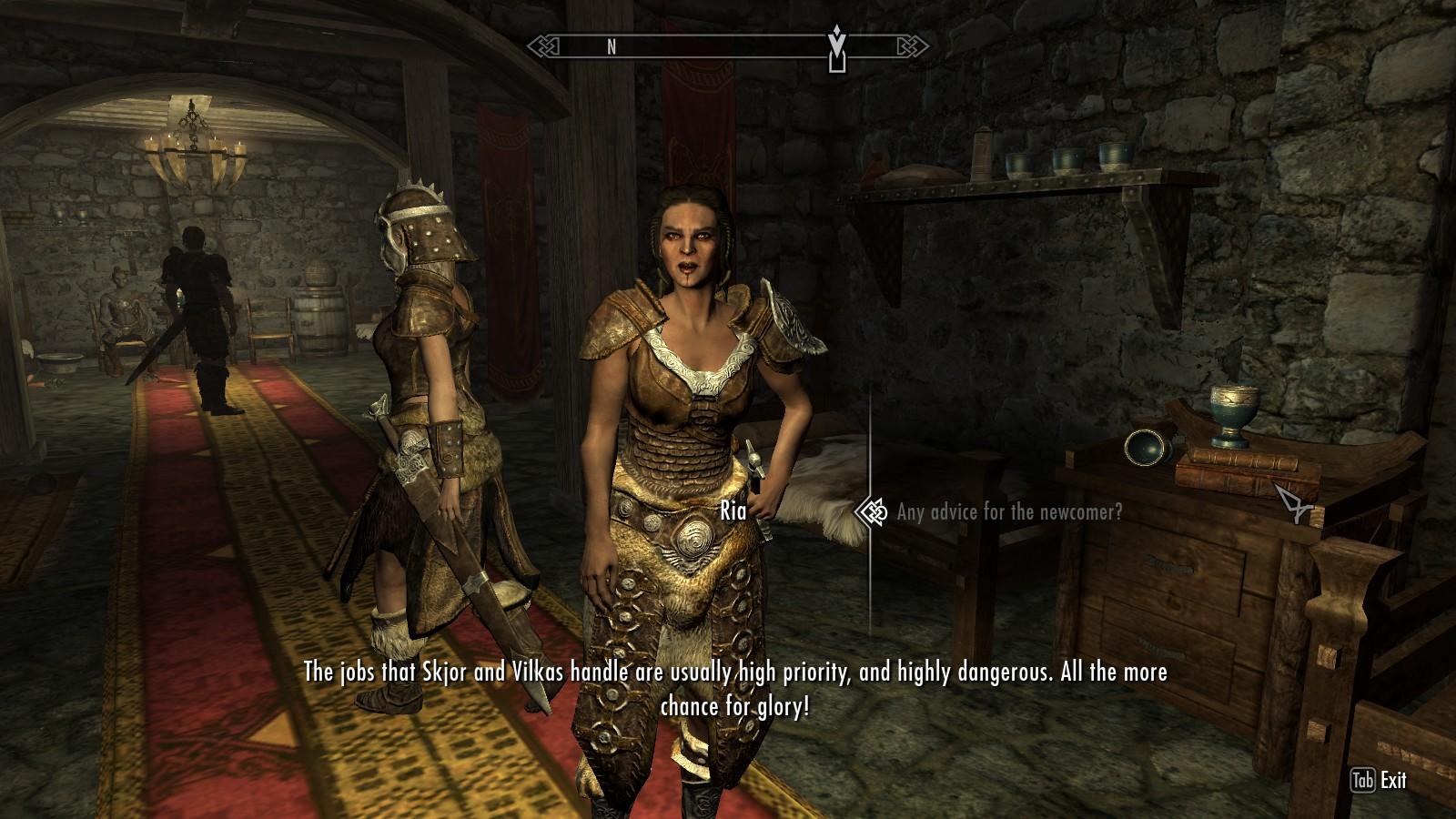 the best skyrim mods: enhanced skyrim factions - the companions