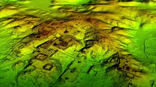 Lidar surveys in Guatemala have revealed thousands of Maya structures, including pyramids, fortification walls and the foundations of homes.