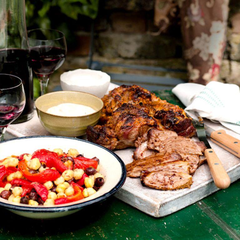 Harissa and Yogurt Marinated Leg of Lamb recipe-lamb recipes-recipe ideas-new recipes-woman and home