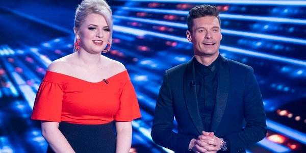 Maddie Poppe Ryan Seacrest American Idol
