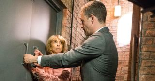 Nick and Gail in Coronation Street