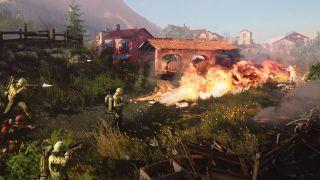 Company of Heroes 3 flamethrower