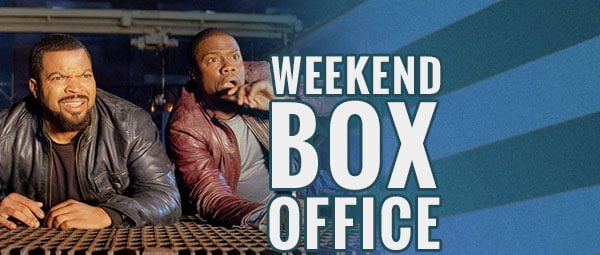 Weekend box office ride along 2 cruises to number one - Movie box office results this weekend ...