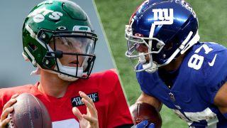 Jets vs Giants live stream: Zach Wilson and Sterling Shepard