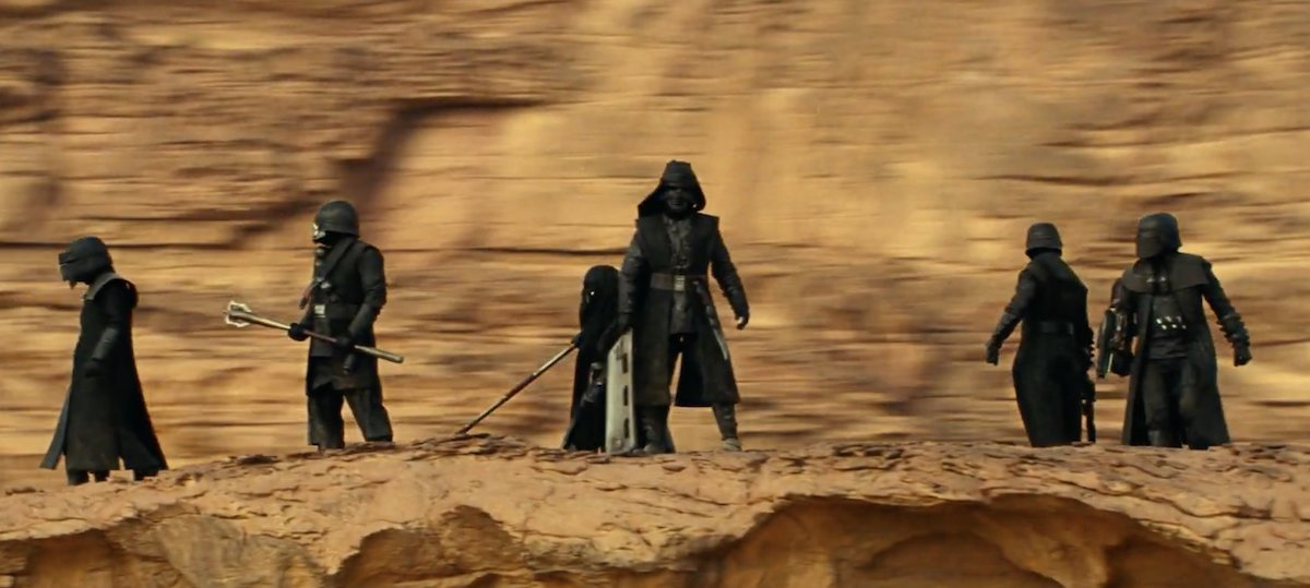 Knights of Ren in Star Wars Rise of Skywalker