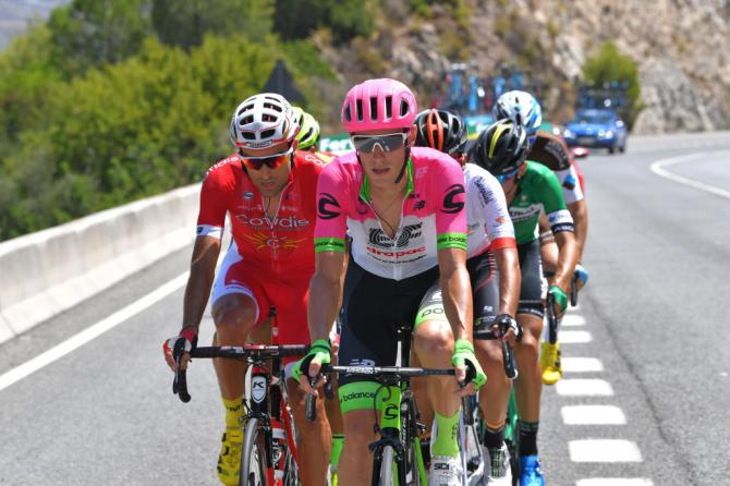 Luis Angel Mate (Team Cofidis) and Pierre Rolland (Team EF Education First - Drapac)