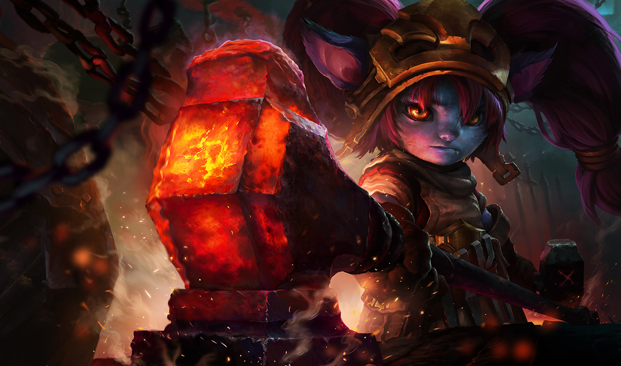 League Of Legends' Long-Overdue Rework For Poppy Looks Awesome #35057