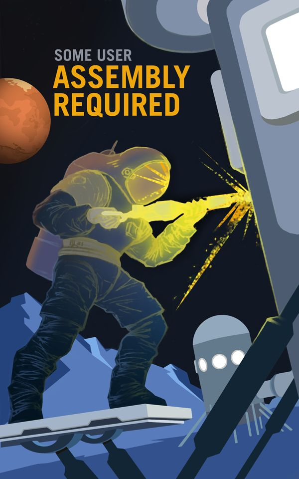 Mars Wants You: Retro Posters Invite Red Planet Explorers