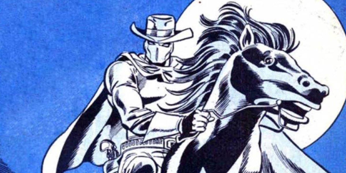 Carter Slade is the Phantom Rider