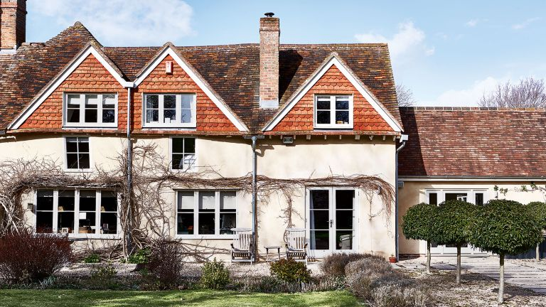Oxfordshire country house exterior
