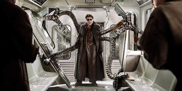 Alfred Molina as Otto Octavius, Doc Ock costume in Spider-Man 2